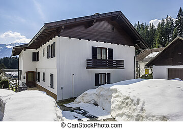 Austrian winter house