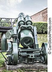 Austro Hungarian WWI Siege Howitzer