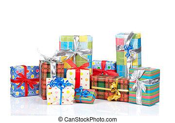 auswahl, kästen, geschenk