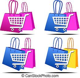 auswahl, shoppen, internet abbilder