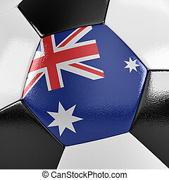 ausztrália, focilabda