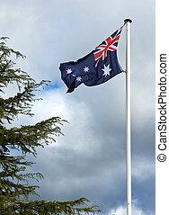 ausztrália, nemzeti lobogó