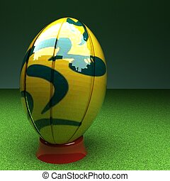 ausztrália, rugby labda