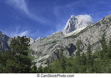 ausztria, hegyek