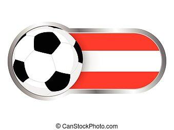 ausztria, jelvény, futballcsapat