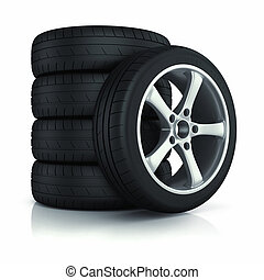 autó, állhatatos, wheels.