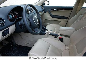 autó belső