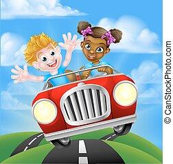 autó, betűk, vezetés