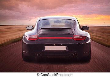 autó, fényűzés, sport