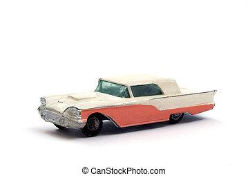 autó, formál, thunderbird, átgázol