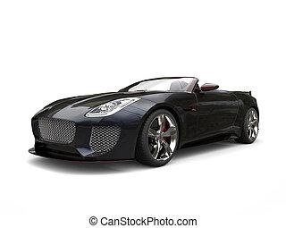 autó, gyorsan, sport, fekete, redish, kihangsúlyoz, átváltható