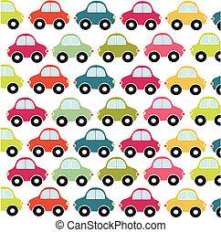 autó, játékszer, motívum