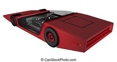 autó, jövő, mintapéldány