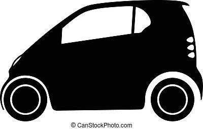 autó, kicsi