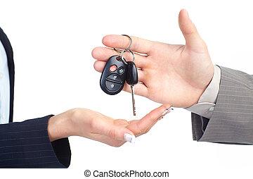 autó kulcs