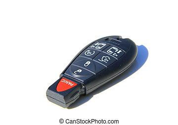 autó kulcs, távoli