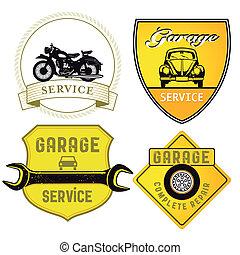 autó megjavítás, cégtábla