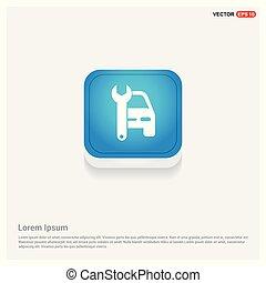 autó megjavítás, ikon