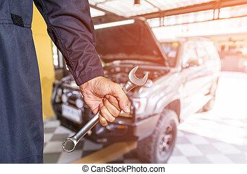 autó megjavítás, iparág