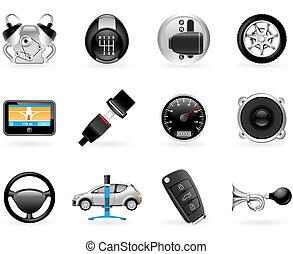 autó, opciók