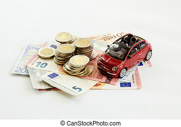 autó, pénz