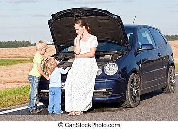 autó, probléma