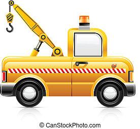autó, romboló, szolgáltatás