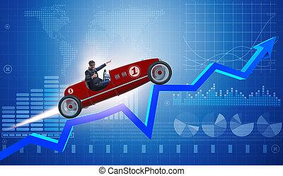 autó, táblázatok, ellen, sport, üzletember, lovaglás