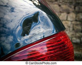 autó, veszteség