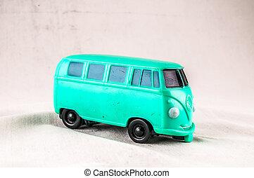 autóbusz, furgon, hippi