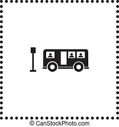 autóbusz, jelkép