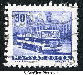autóbusz, városnézés