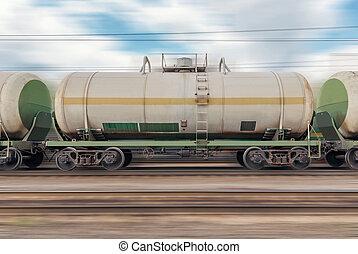 autók, train., tartálykocsi