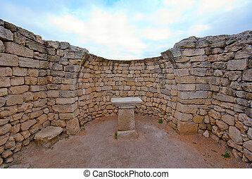 autel, ruines anciennes