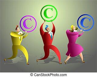 auteursrecht, team