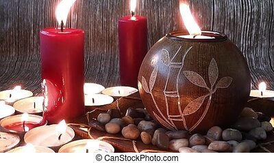 Authentic Atmosphere 1 - authentic,candle,candles, romance...