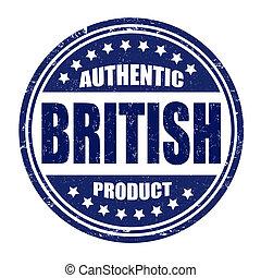 Authentic british product stamp
