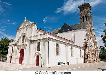 authentic church in france