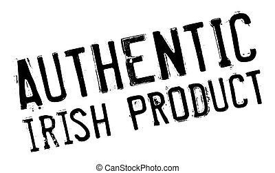 Authentic irish product stamp