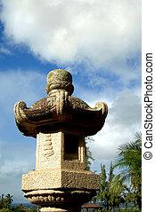 Authentic Japanese Stone Lantern