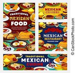 Authentic Mexican cuisine restaurant menu