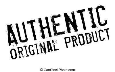 Authentic original product stamp
