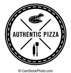 Authentic pizza