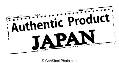 Authentic product Japan