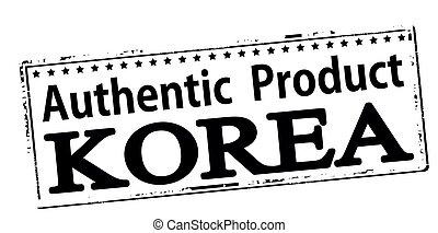 Authentic product Korea