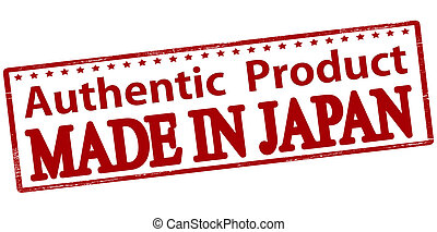 Authentic product made in Japan