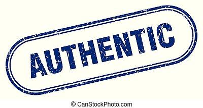 authentic stamp. authentic square grunge sign. authentic