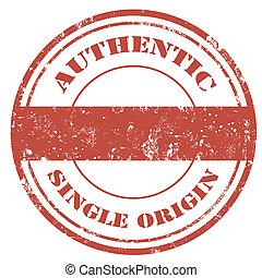 Authentic-stamp