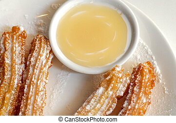 how to make chocolate dipping sauce for churros