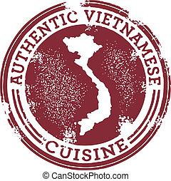 A stamp for Vietnamese restaurants.